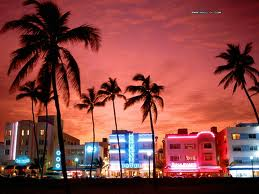 Miami's South Beach, an International Hot Spot